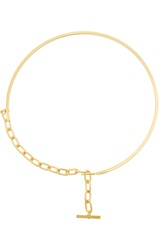 Gemma Redux Gold Plated Necklace
