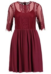 Mintandberry Summer Dress Windsor Wine Dark Red