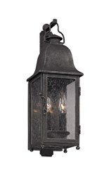Troy Lighting Larchmont Outdoor Wall Light Gray