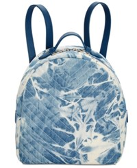 Steve Madden Josie Quilted Small Backpack Tie Dye