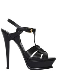 Saint Laurent 140Mm Tribute Leather Sandals