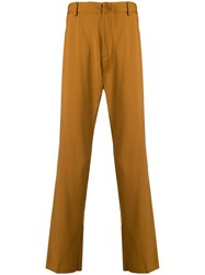 N 21 No21 Loose Fit Trousers Yellow And Orange