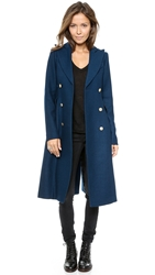 Smythe Reefer Coat Royal