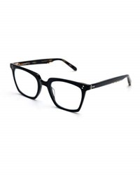 Krewe Howard Rectangular Optical Frames Black