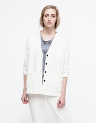 Objects Without Meaning Salma Denim Jacket Chalk