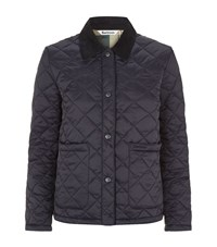 Barbour Summer Cropped Border Jacket Female Navy