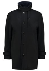 G Star Gstar Garber Wool Trench Classic Coat Black