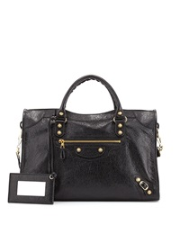 Balenciaga Giant 12 Golden City Bag Black