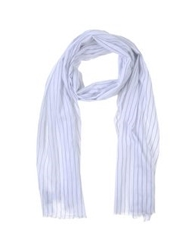 Melindagloss Oblong Scarves White