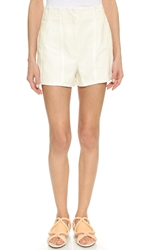 3.1 Phillip Lim Seamed Canvas Shorts