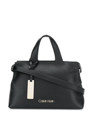 Calvin Klein Textured Tote Bag Black