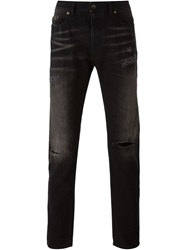 Diesel Black Gold Distressed Slim Fit Jeans