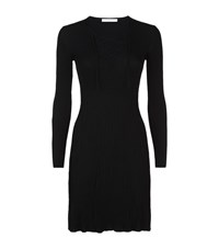 Sandro Day Lace Up Dress Female Black