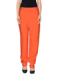 Pedro Del Hierro Trousers Casual Trousers Women Orange