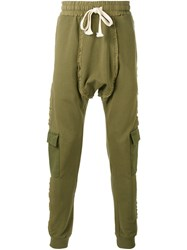 Blood Brother Brit Cargo Trousers Men Cotton L Green