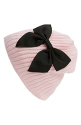 Women's Kate Spade New York Diagonal Rib Knit Beanie Pink Pastry Pink