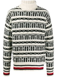 Tommy Hilfiger Fair Isle Oversized Jumper 60