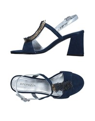Apepazza Sandals Blue