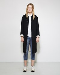 Mackintosh Wool Double Face Coat Black