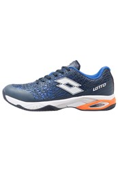 Lotto Viper Ultra Iii Cly Outdoor Tennis Shoes Blu Avi White Blue