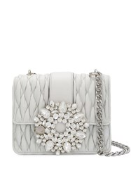 Gedebe Gio Embellished Tote White