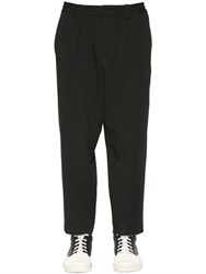 Marni Carrot Fit Wool Twill Pants