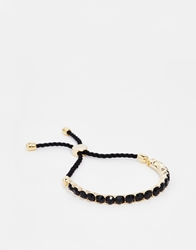 Love Rocks Black Crystal Friendship Bracelet Blackgold