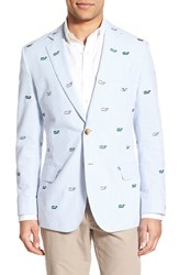 Men's Vineyard Vines Embroidered Seersucker Sport Coat