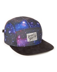 Icon Brand 5 Panel Cap With Cosmic Print