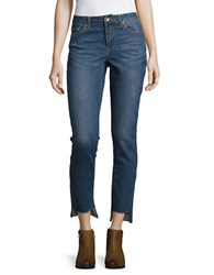 Highline Collective Sunset Cutout Jeans Blue