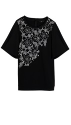 Tibi Blossom Cut Out Top