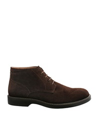 Bass Plano Suede Chukka Boots Dark Brown