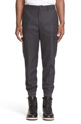 Men's Moncler Wool Cargo Pants