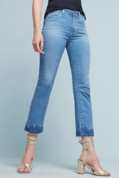 Anthropologie Ag Jodi High Rise Kick Flare Jeans Denim Light