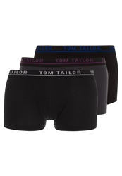 Tom Tailor 3 Pack Shorts Blackweb Blue