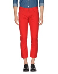 M.Grifoni Denim Casual Pants Red