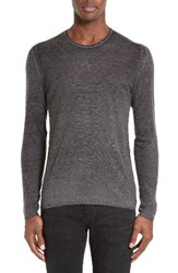 John Varvatos Men's Collection Silk And Cashmere Sweater