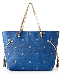 Bay Blue Upscale Mizner Tote Lilly Pulitzer