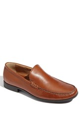 Men's Johnston And Murphy 'Creswell' Venetian Slip On Cognac