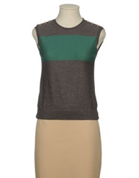 Jofre Sleeveless Sweaters Dove Grey