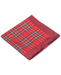 Club Room Tartan Pack Pocket Square Only At Macy's