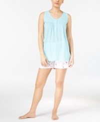 Charter Club Tank Top And Boxer Shorts Mix It Pajama Set Only At Macy's Hot Flamingos