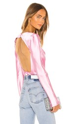C Meo Collective X Revolve Polarised Blouse In Pink.