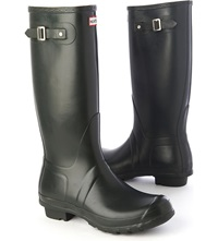 Hunter Original Wellies Green