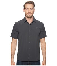 Outdoor Research Astroman S S Shirt Charcoal Short Sleeve Button Up Gray