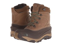 The North Face Chilkat Ii Luxe Utility Brown Beetle Green Men's Cold Weather Boots
