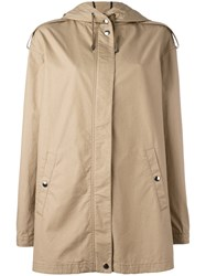 Giamba Lightweight Coat Nude Neutrals