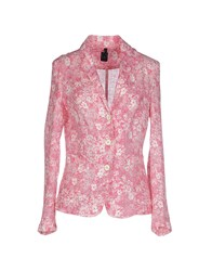 T Jacket By Tonello Suits And Jackets Blazers Women Fuchsia