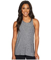 Beyond Yoga Can't Hardly Lightweight Keyhole Tank Top Black White Spacedye Women's Sleeveless Gray