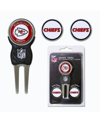 Team Golf Kansas City Chiefs Divot Tool And Markers Set Team Color